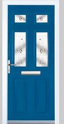Composite Door Blue