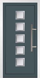 Aluminium Door front