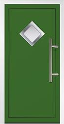 Argyle Green front Door