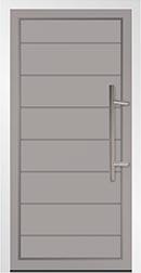 Solid Aluminium Door