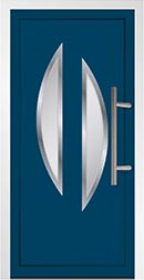 Aluminium Door Green