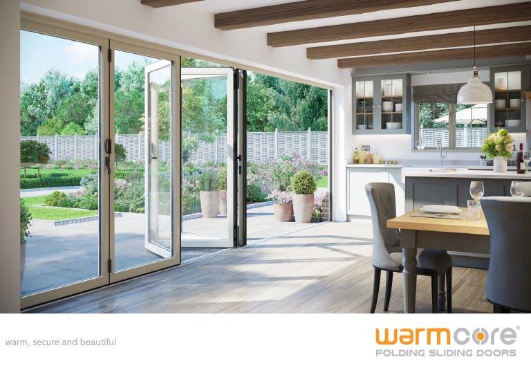 Doors Bifold warmcore Aluminum brochure