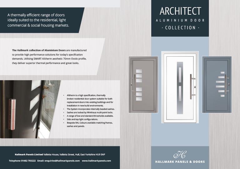 Doors Aluminium brochure