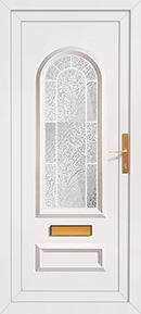 PVCu front door